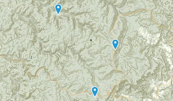 Cranberry Wilderness Map