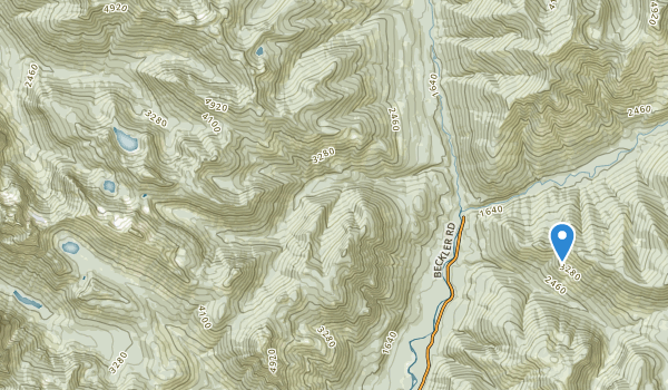 Wild Sky Wilderness Map