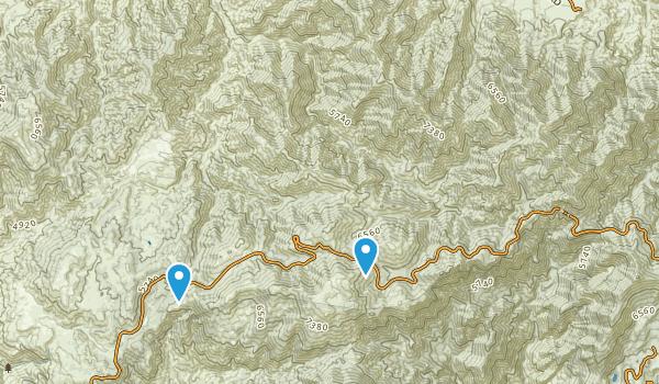 Pleasant View Ridge Wilderness Map