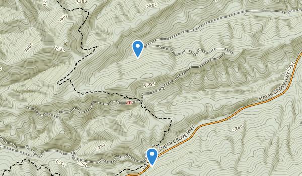 Raccoon Branch Wilderness Map