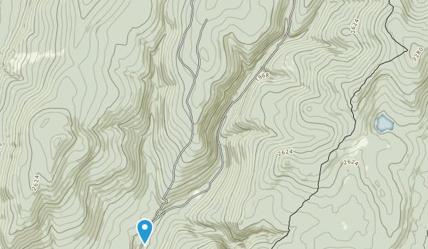 Glastenbury Wilderness Map