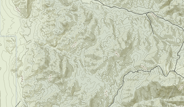 trail locations for White Pine Range Wilderness