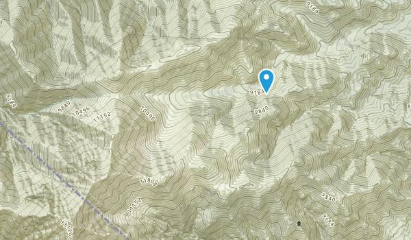 Boundary Peak Wilderness Map