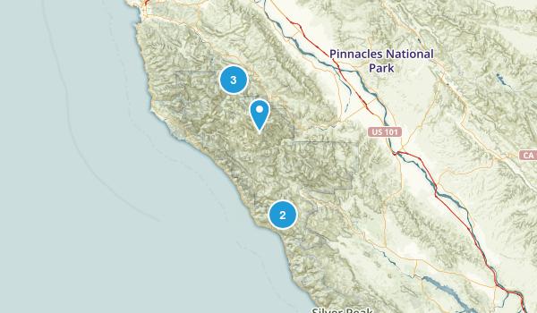 Ventana Wilderness Map