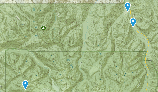 Clearwater Wilderness Map