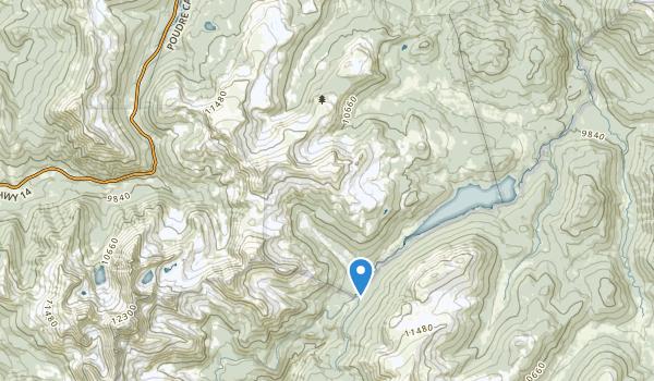 Neota Wilderness Map