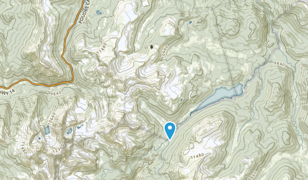 Neota Wilderness Map