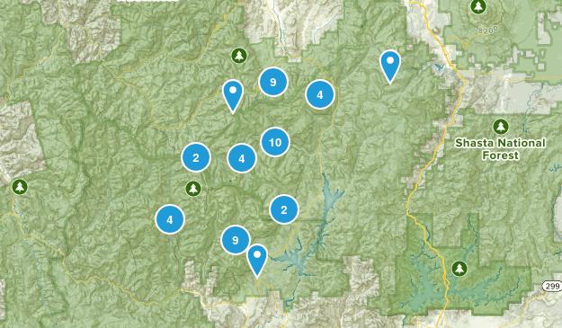 Map of Trails near Trinity Alps Wilderness - California | AllTrails
