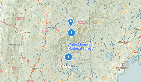 White Mountain Purchase Unit Map