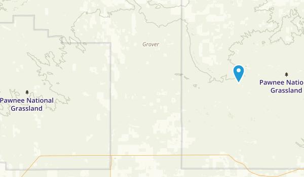 Pawnee National Grassland Map