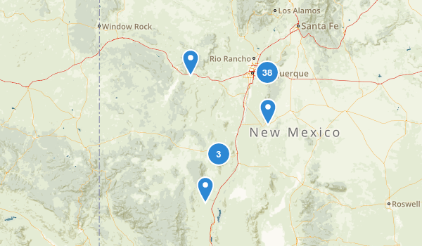 Cibola National Forest Map
