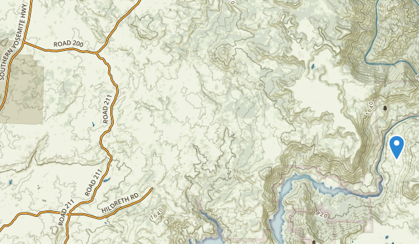 San Joaquin Experimental Area Map