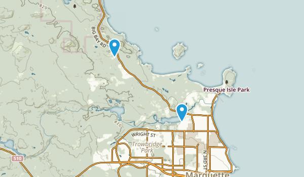 Northern Hardwood Lab Experimental Area Map
