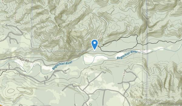 trail locations for Bogachiel Purchase Unit