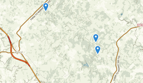 Lyndon B. Johnson National Grassland Map