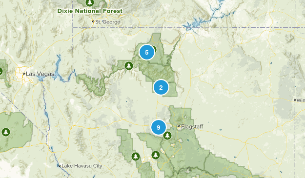 Kaibab National Forest Map