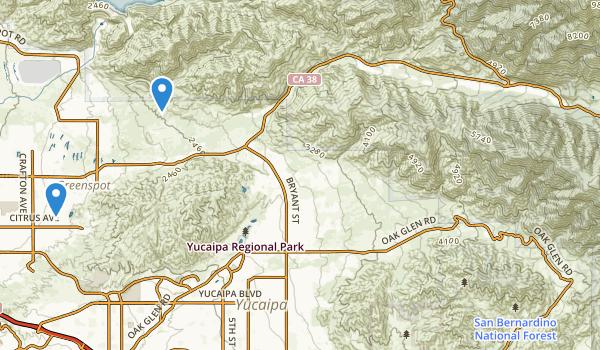 San Bernardino Other Map