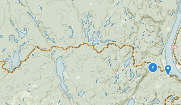 trail locations for La Mauricie National Park Of Canada