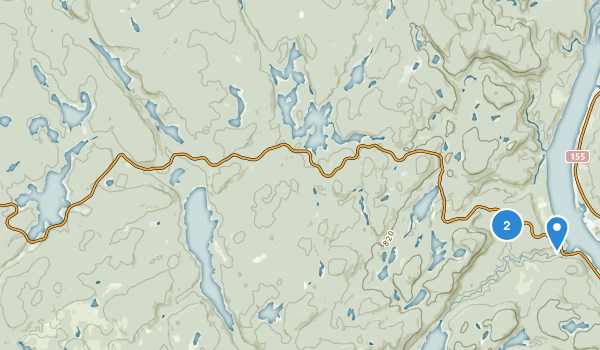 La Mauricie National Park Of Canada Map