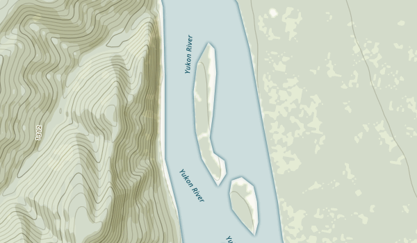 Yukon-Charley Rivers National Preserve Map
