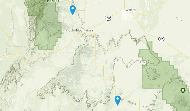 Salinas Pueblo Missions National Monument Map