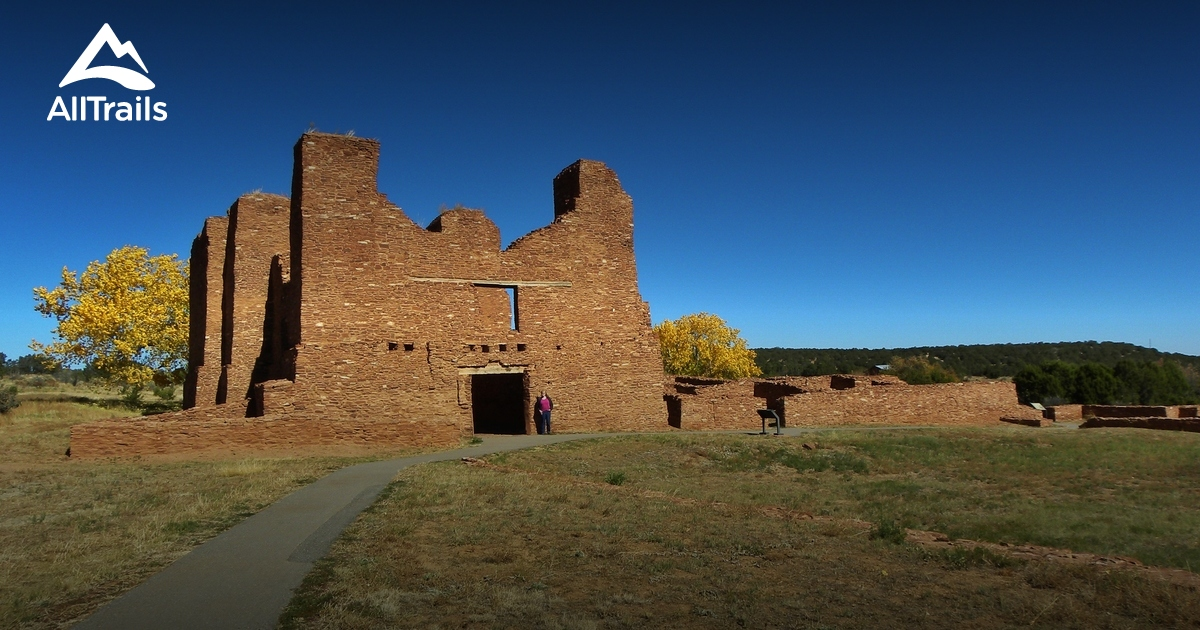 Teen Driving App >> Best Trails in Salinas Pueblo Missions National Monument ...
