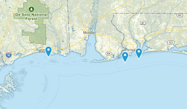 Gulf Islands National Seashore Map