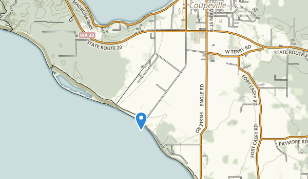 trail locations for Ebey's Landing National Historical Reserve