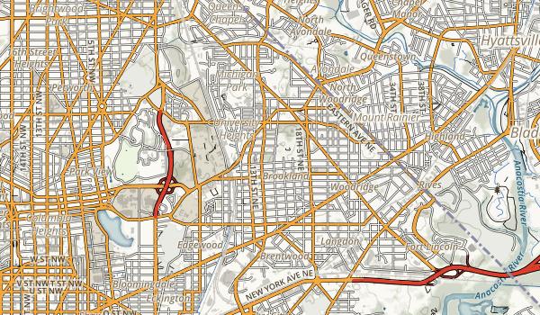 Fort Bunker Hill Park Map