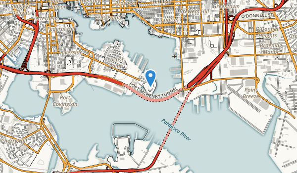 Fort McHenry National Monument and Historic Shrine Map