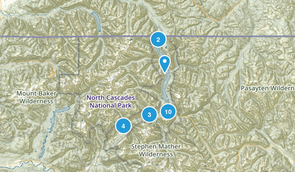 Ross Lake National Recreation Area Map