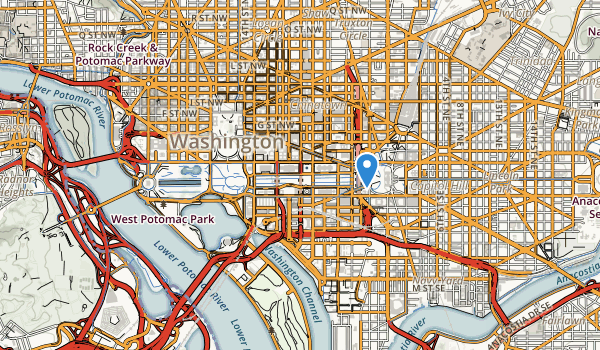 Washinton Monument Memorial Map