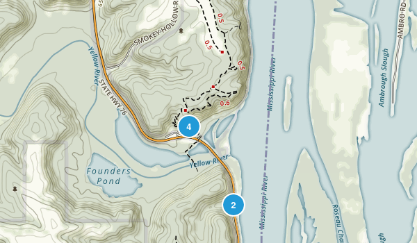Effigy Mounds National Monument Map