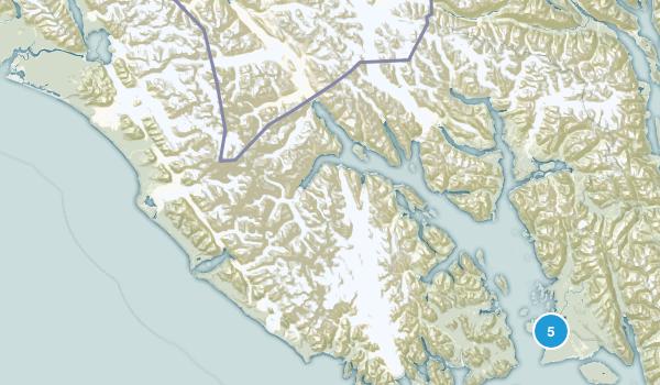 Glacier Bay National Park Map