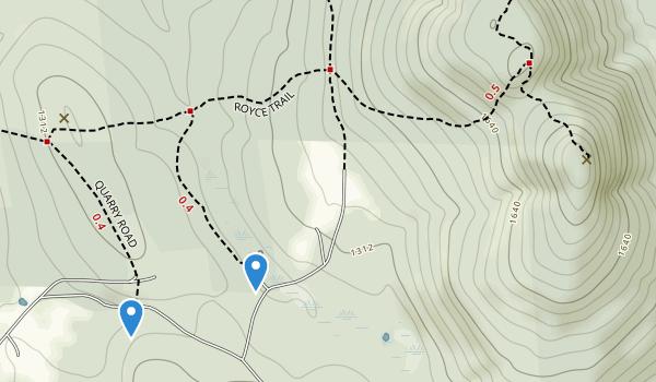 Gap Mountain Reservation Map