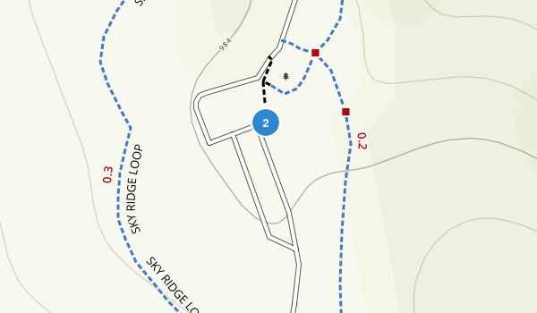 Hidden Falls Regional Park Map