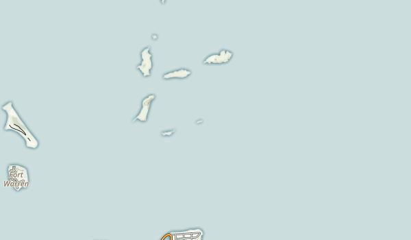 Shag Rocks Map