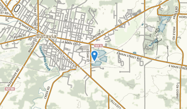 Dewitt Recreation Area Map
