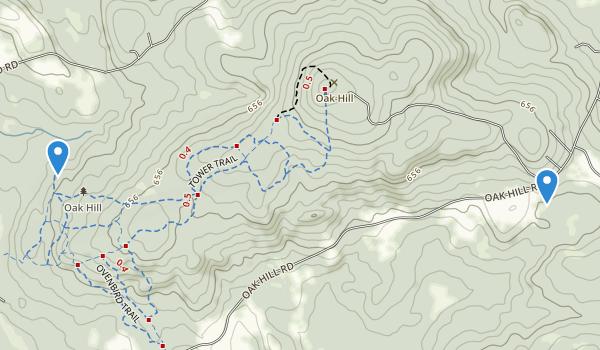 Oak Hill Map