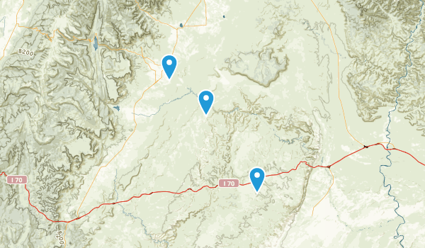 Sids Mountain Wilderness Study Area Map