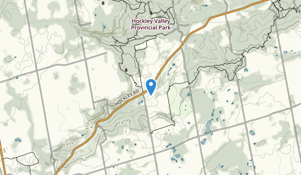 trail locations for Hockley Valley Provincial Park
