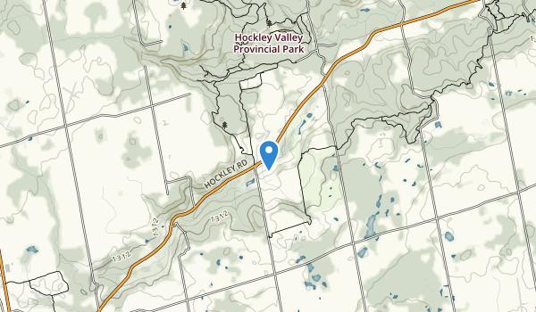 Hockley Valley Provincial Park Map
