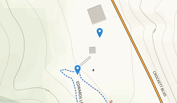 trail locations for Crockett Hills Regional Park