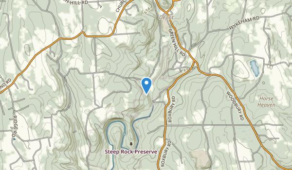 Steep Rock Preserve Map