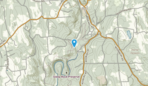 Steep Rock Preserve Map