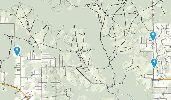 Jennings State Forest Map