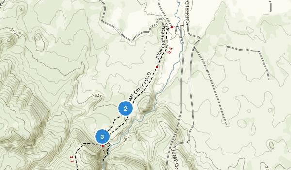 Jump Creek Recreation Site Map
