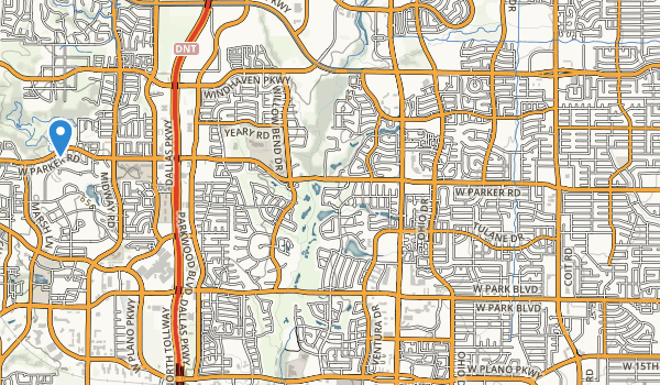 trail locations for Cheyenne Park