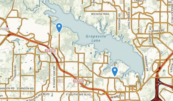 Oak Grove Park Map
