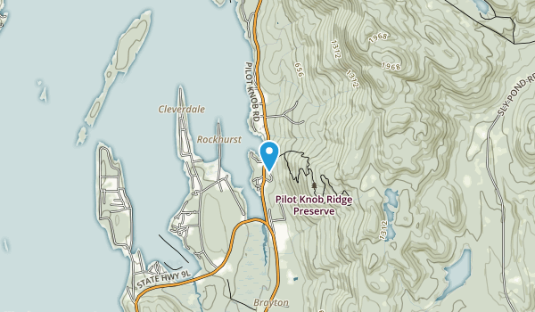 Pilot Knob Ridge Preserve Map